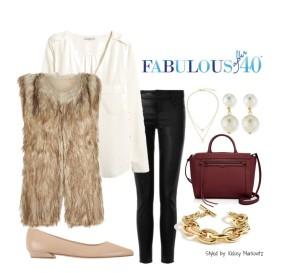 faux-fur-vest-white-blouse1